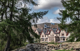 The Fife Arms, Braemar – Hotel Exterior, photo credit Sim Canetty-Clarke